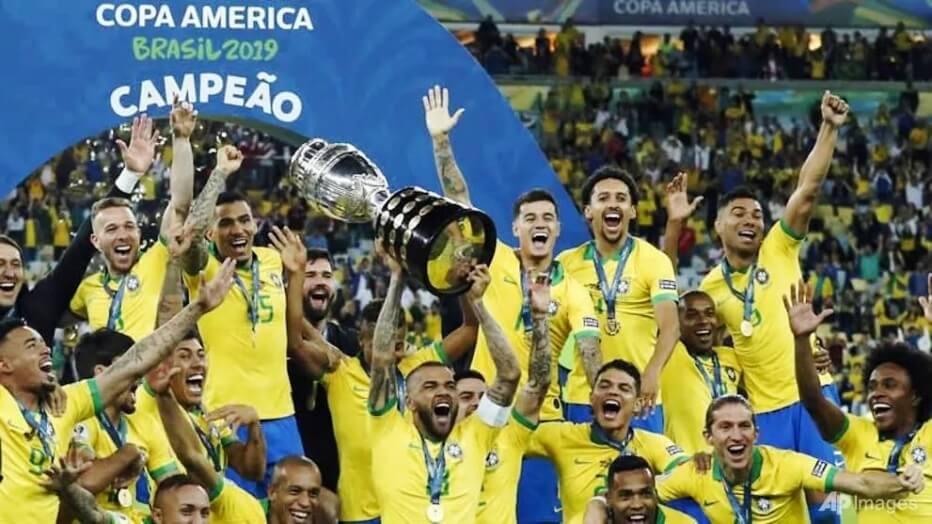 Brazil-Copa America Champion