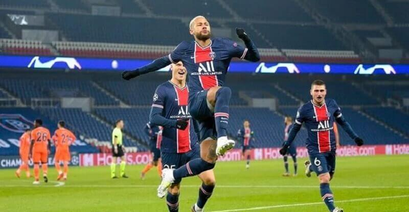 Neymar hat-trick as PSG win, Real and Atletico through